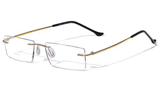 lensNvision - Glasses, Frames & Designer Eyewear: Rimless Glasses ...