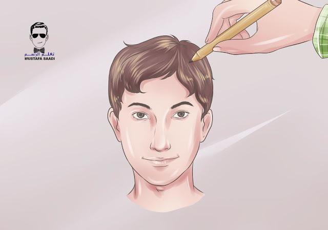 تعلم رسم وجه بالرصاص للمبتدئين
