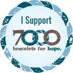 Click to learn about donating or receiving a bracelet!