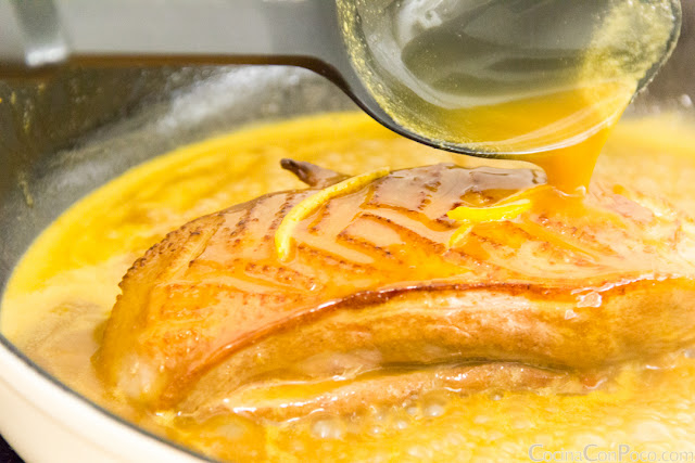 Pato a la naranja - Receta facil paso a paso