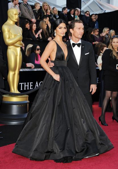 camila alves 2011 oscars dress. Another Oscars date who stole