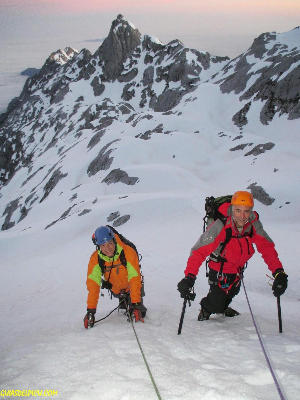 Guias de montaña guiasdelpicu, especialista en los Picos de Europa