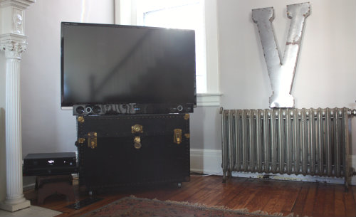 repurposed grill ideas for stands 17 apart before after from throw away trunk to repurposed tv stand