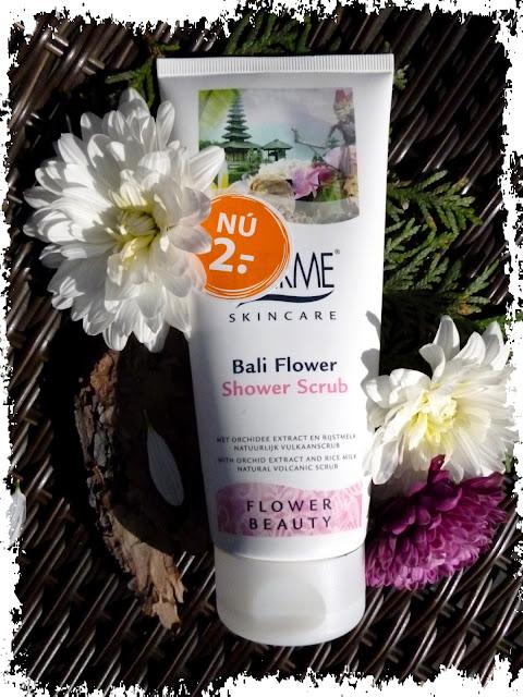 Therme Skincare, Scrub pod prysznic, Bali Flower