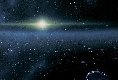 El cinturón de Kuiper es una vasta zona de mundos helados