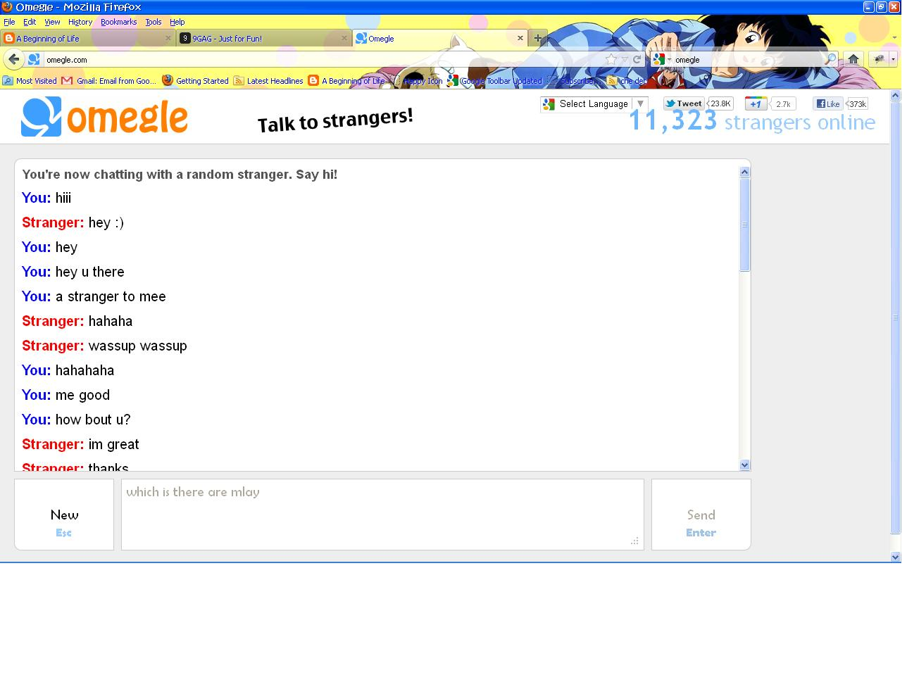 omegel talk to strangers
