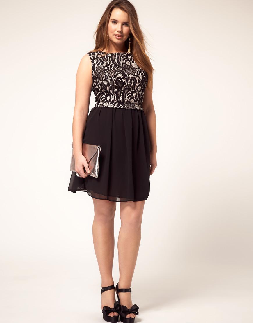 To Guardando o Modelo >> Modelos de Vestido: Modelo de vestido preto ...