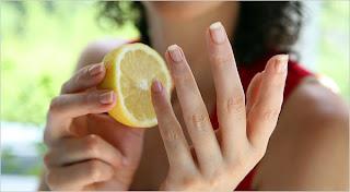 quitar manchas de las uñas