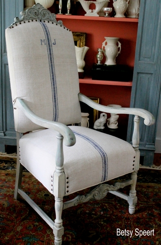 betsy speert s blog how to upholster a chair or what did i get