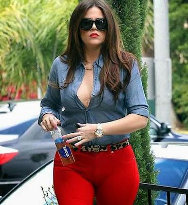 Khloe Kardashian camel toe cameltoe hot