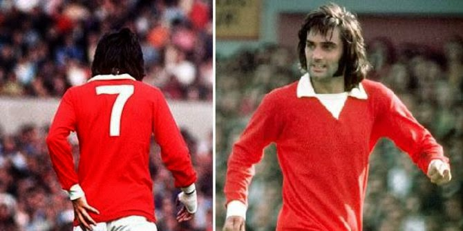 5 Pemain Nomor 7 Manchester United Paling Terkenal Sepanjang Masa