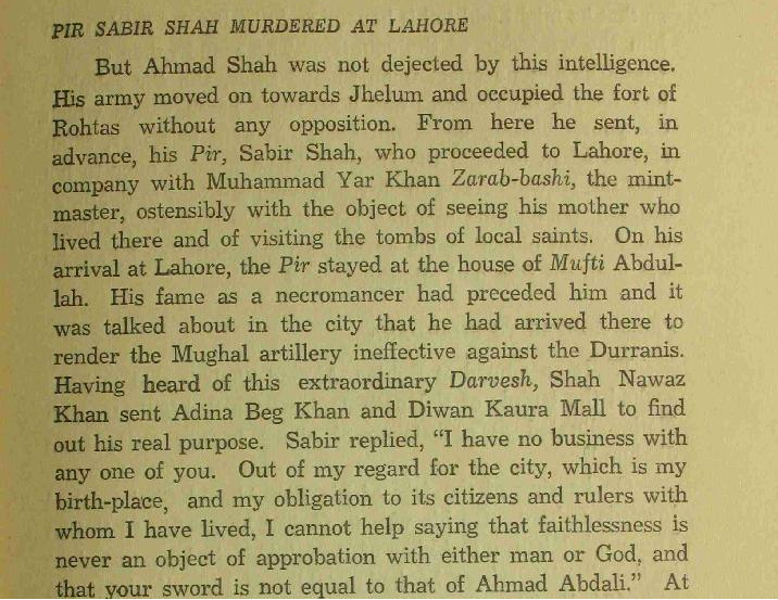 Source Ahmad Shah Durrani Father Of Modern Afghanistan By Gan Singh
