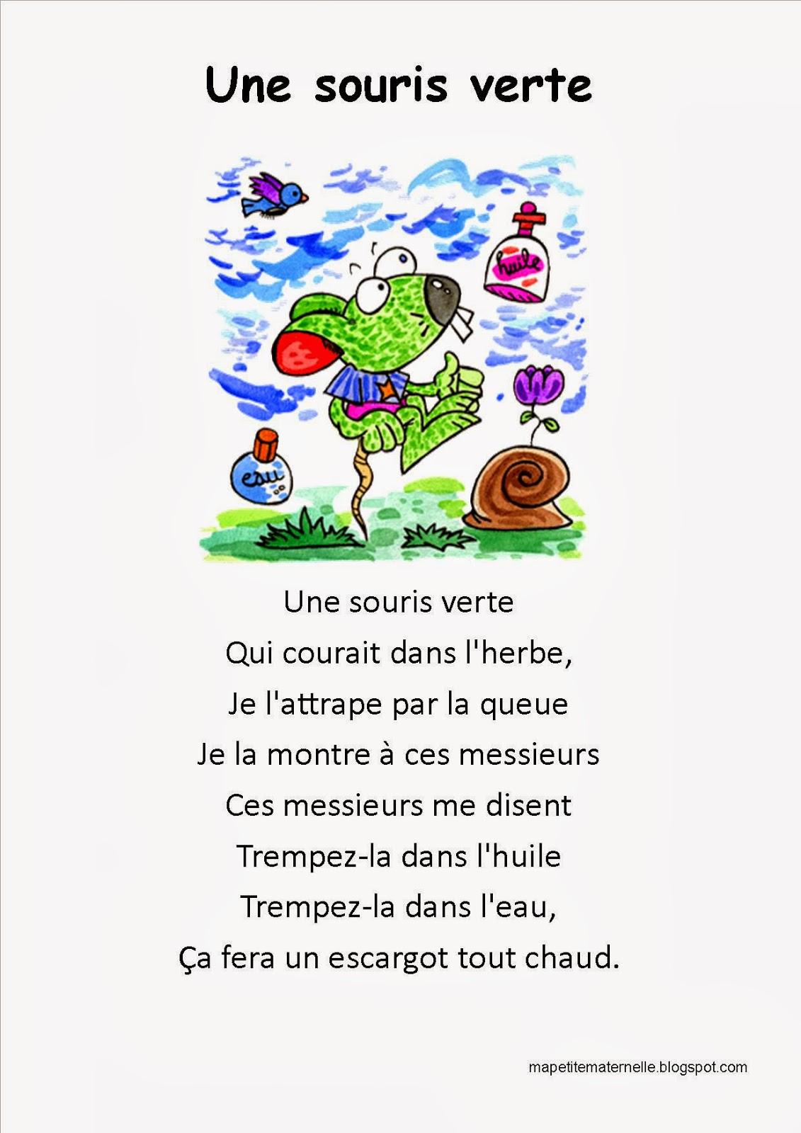 2013 - Une souris verte singe ...