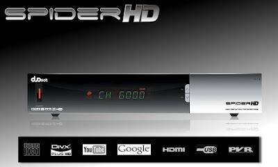 Nova Atualização Duosat Spider Hd Nano V2.0 15-02-2013