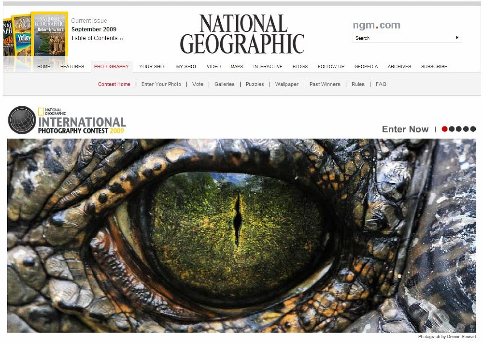 Nat Geo Splash Page