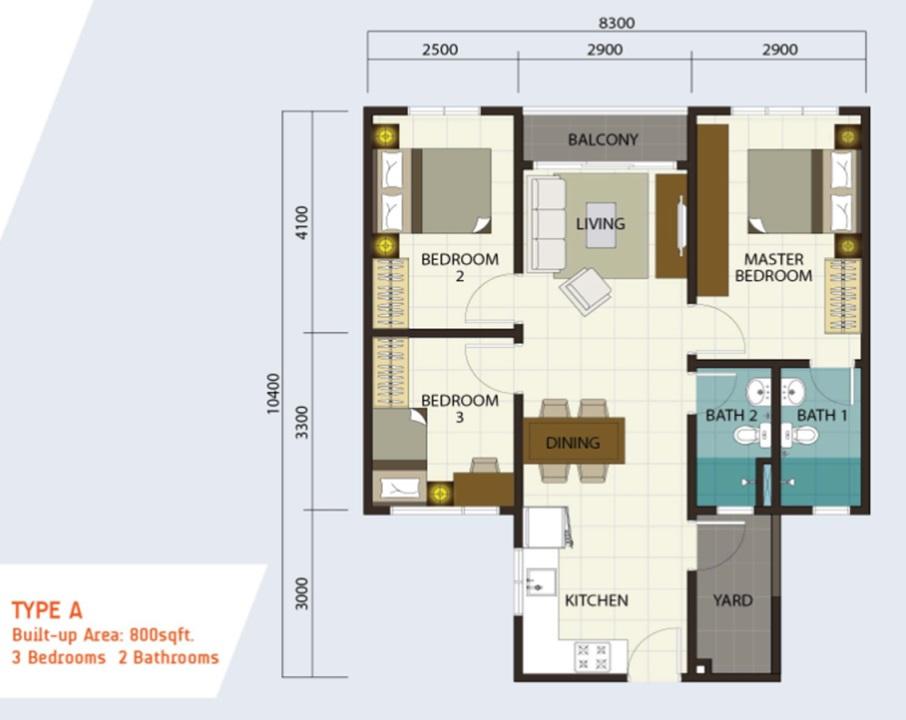 Residensi Puchongmas Apartment Malaysiacondo