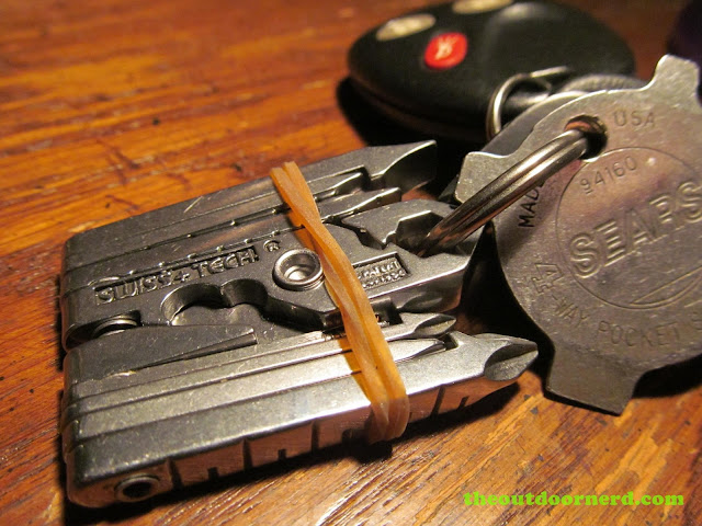 Swiss+Tech Micro Max 19-in-1 Keychain Multi-Tool