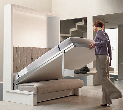 HOUSE CONSTRUCTION IN INDIA SPACE SAVING BEDS