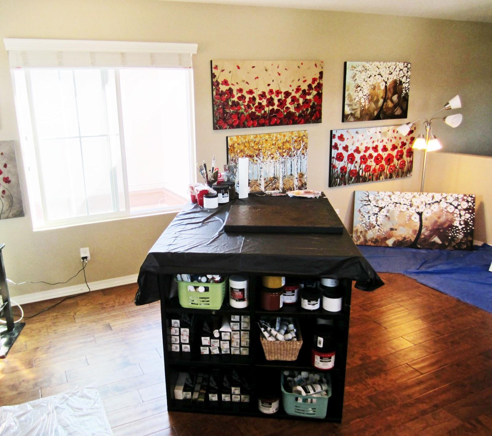 home art studio. excellent artist and studio with home art studio