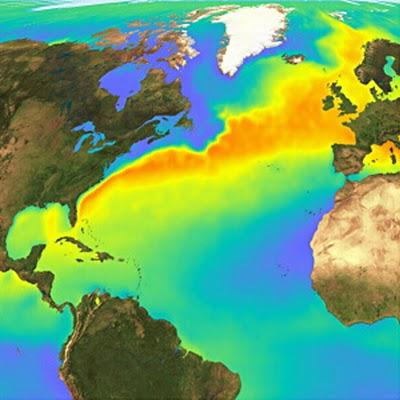 Une poche d'eau douce dans l'océan arctique menace le climat de l'Europe