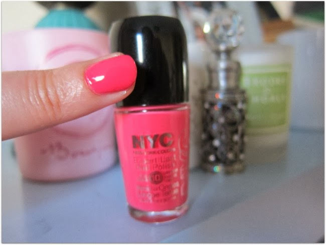 NYC Expert Last Nail Polish  Bubblegum Pink