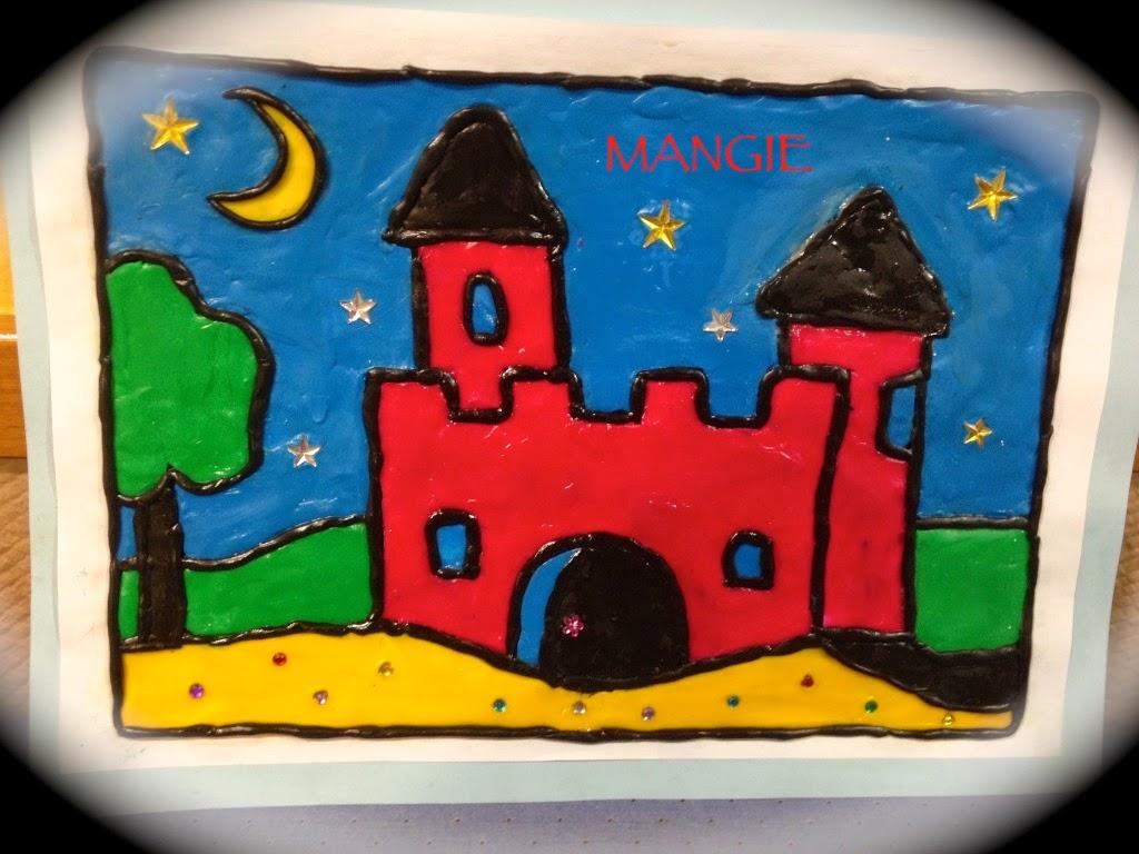 Castillo plastilina