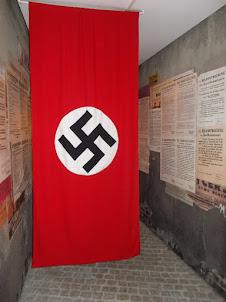 """Nazi Swastika"" in Schindler Factory  Museum."