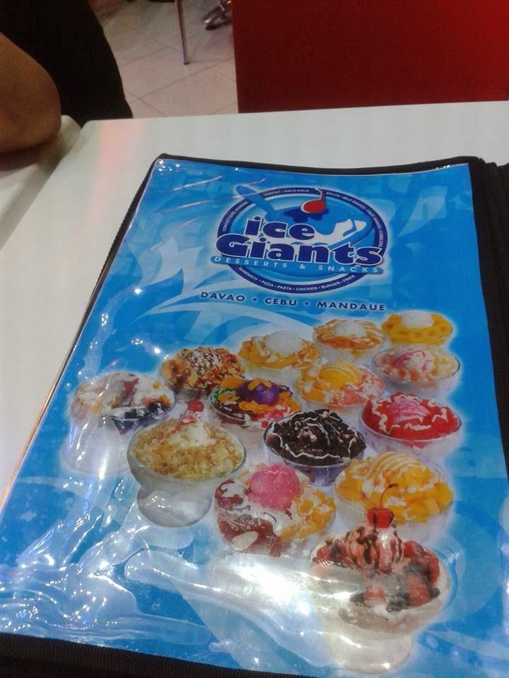 ice giants cebu menu - photo #38