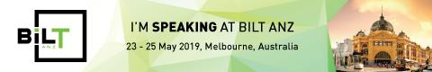 BILT ANZ 2019 Speaker