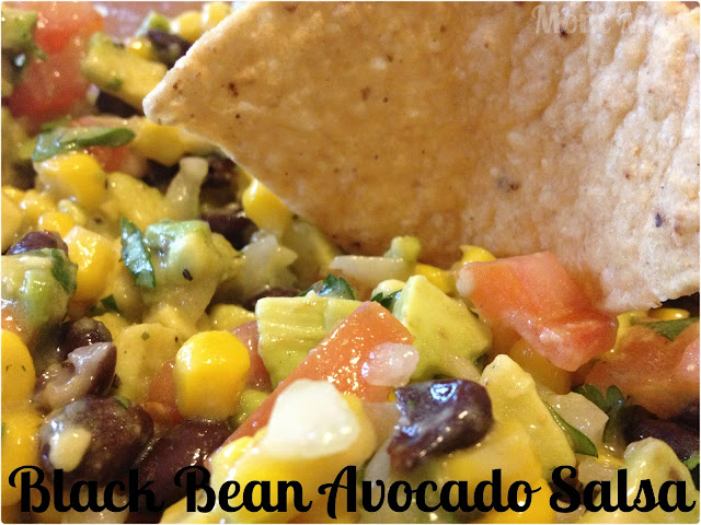Black Bean Avocado Corn Salsa Recipe
