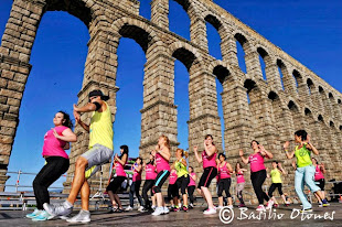 MASTER CLASS DE ZUMBA® en Segovia a los pies Acueducto
