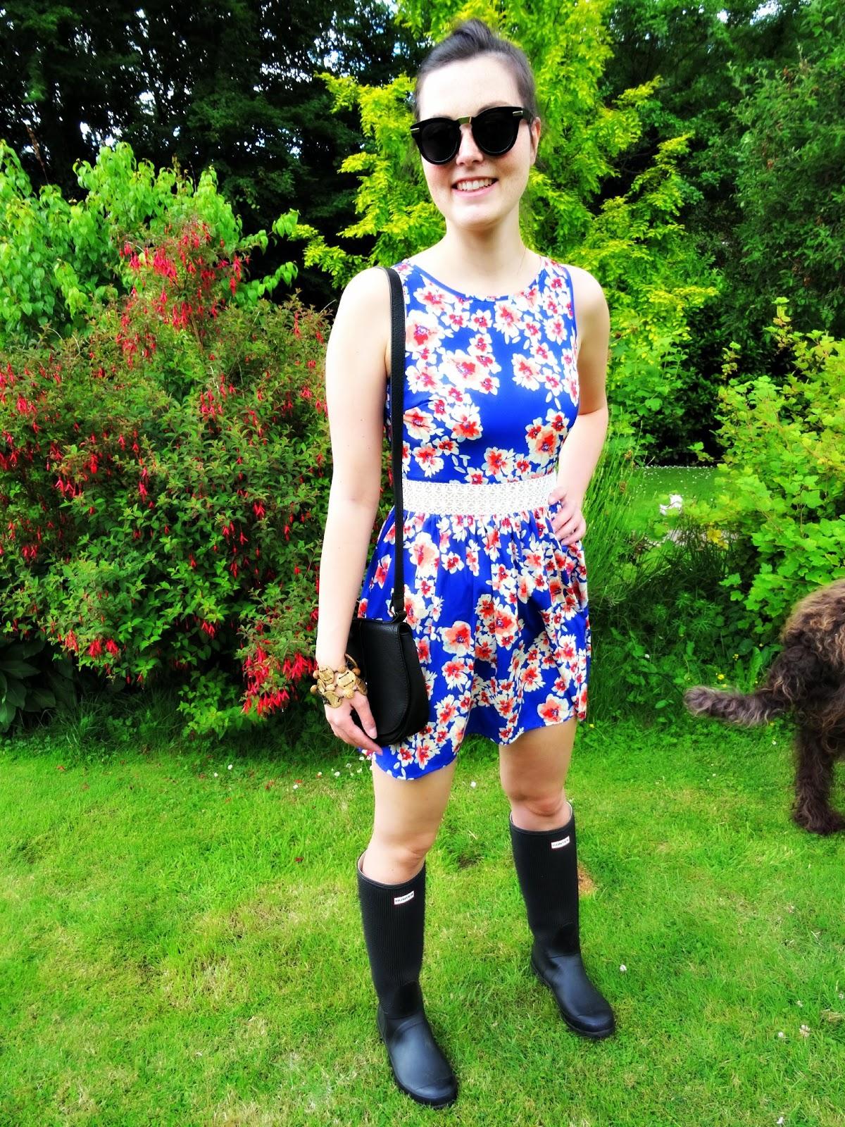 Glastonbury floral dress