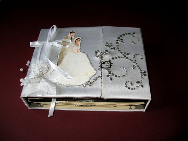Свадебные скрапбукинг своими руками