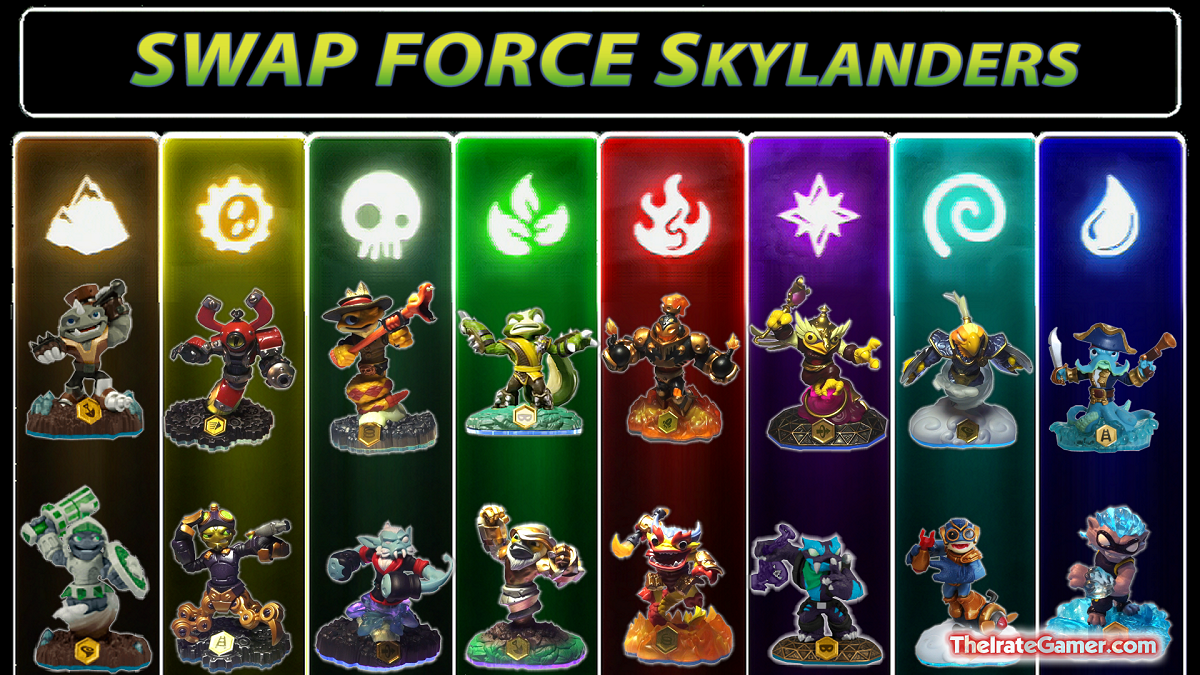 Pin Skylanders Swap Force New Revealed At E3 2013 Xbox 360 ...
