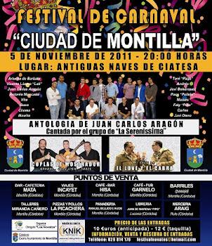 """FESTIVAL DE CARNAVAL """"CIUDAD DE MONTILLA"""""""