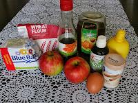 Appeltaart zonder suiker, zonder tarwe, van spelt meel