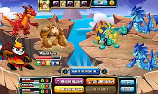 Monster Legends - joc Facebook
