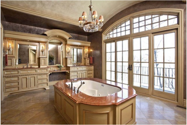 tuscan bathroom design ideas - Design Ideas For Bathrooms