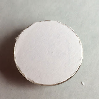 Back of cabochon- rough - needs sanding