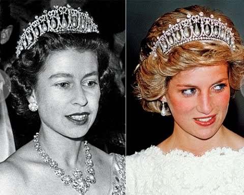 queen elizabeth wedding pictures. queen elizabeth wedding tiara.