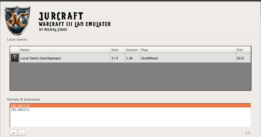 JurCraft Warcraft 3 Lan Emulator For Windows Lancraft