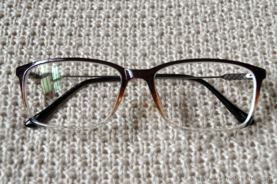 Springfield Rectangle Eyeglasses in Brown from Glassesshop.com