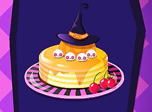 Halloween Spooky Pancakes