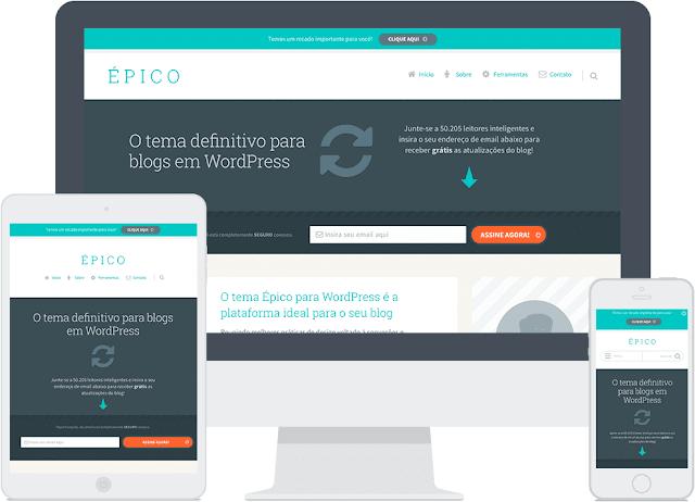 Tema Epico para WordPress - Temas Para WordPress