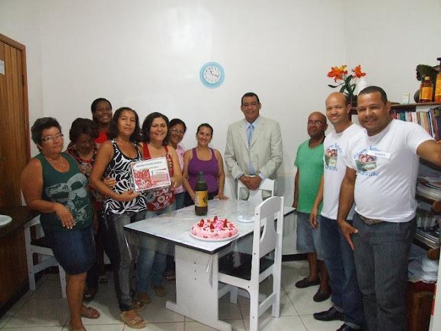Comemoração 25 anos de trabalha pela educação da professora Solange Aranha
