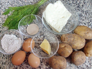 Crochete de cartofi cu branza ingrediente reteta