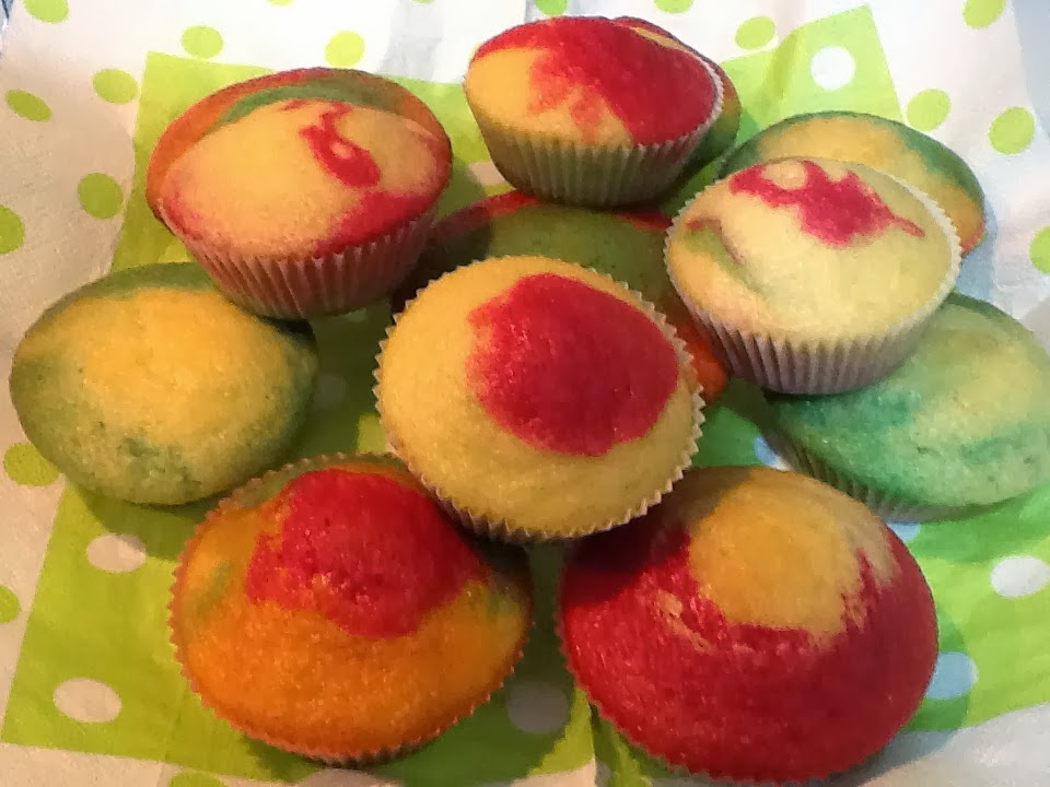 muffin arlecchino