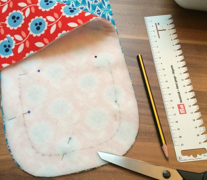 Mozzie Bag - Tipps & Tricks: Aus den Resten eine Verschlusslasche nähen