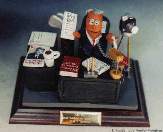 Accountant Figurine