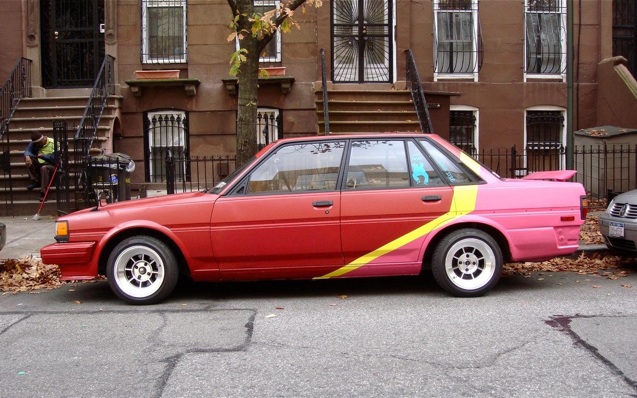 THE STREET PEEP 1985 Toyota Cressida